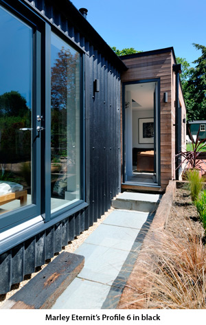 Marley Eternit S Profiled Sheeting Gives Modern Twist To