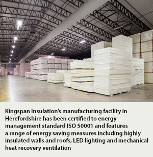 Kingspan Sets New Standards For Energy Management