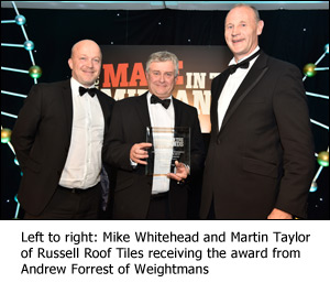 Double Celebrations For Russell Roof Tiles Roofing