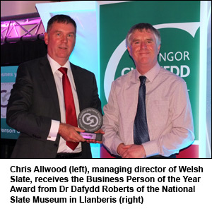Welsh Slate Md Named Business Person Of The Year Roofing